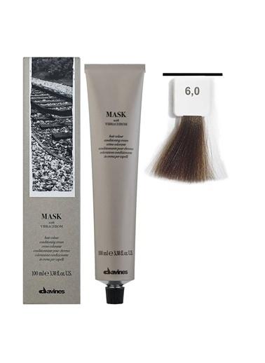 Davines Davines Mask Vibrachrom Saç Boyası 6,0 Koyu Kumral 100 Ml Renksiz
